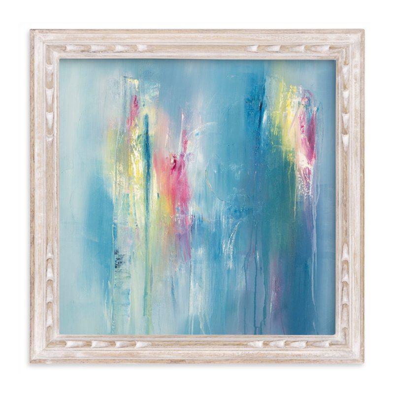 """""""Unrequited Color"""" - Art Print by Laura Viapiano in beautiful frame options and a variety of sizes."""
