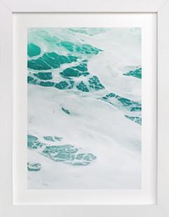 Cerulean Swell II  Art Print