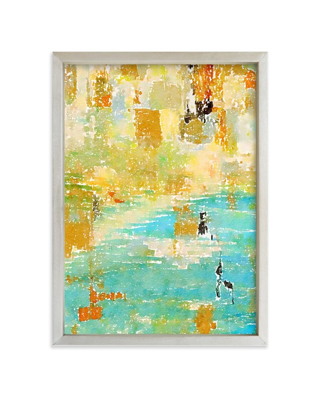"""""""Water Reflected"""" - Art Print by Amy Lighthall in beautiful frame options and a variety of sizes."""