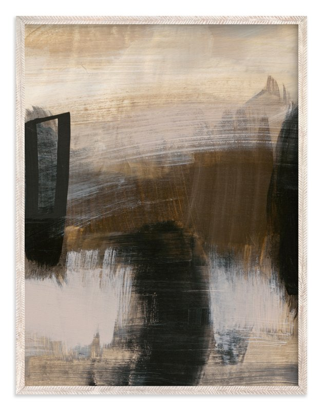 """""""Deserted Landscape Series 5"""" - Art Print by Angela Simeone in beautiful frame options and a variety of sizes."""
