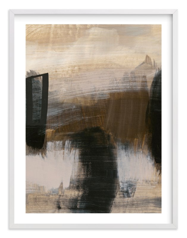 """Deserted Landscape Series 5"" - Art Print by Angela Simeone in beautiful frame options and a variety of sizes."