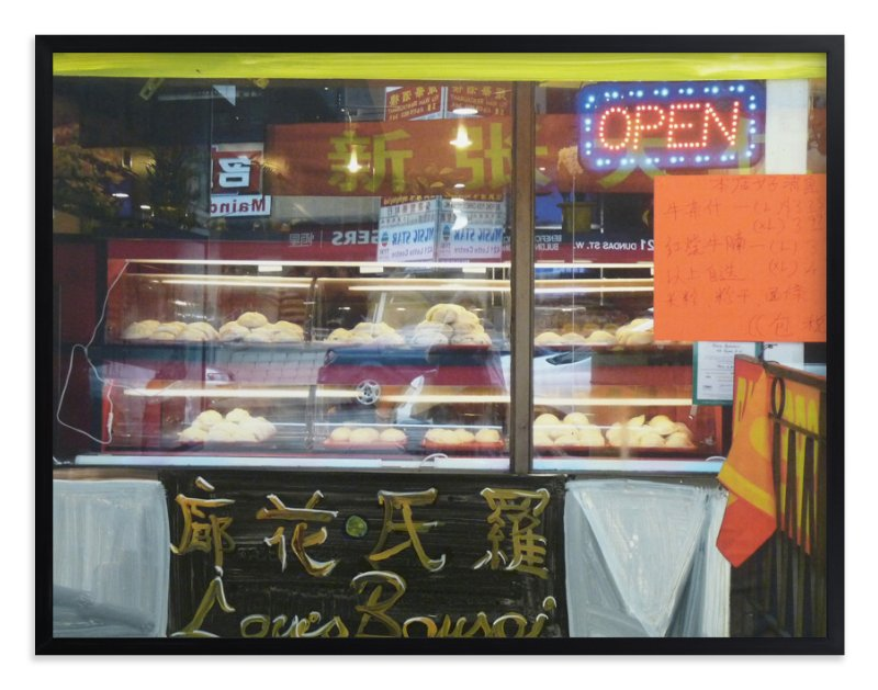 """""""Chinatown window, Toronto"""" - Art Print by Annie Seaton in beautiful frame options and a variety of sizes."""