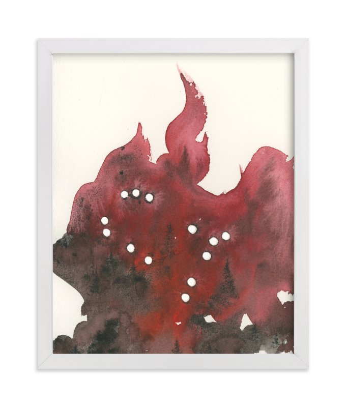 """""""Gemini Constellation"""" - Art Print by Emily Magone in beautiful frame options and a variety of sizes."""