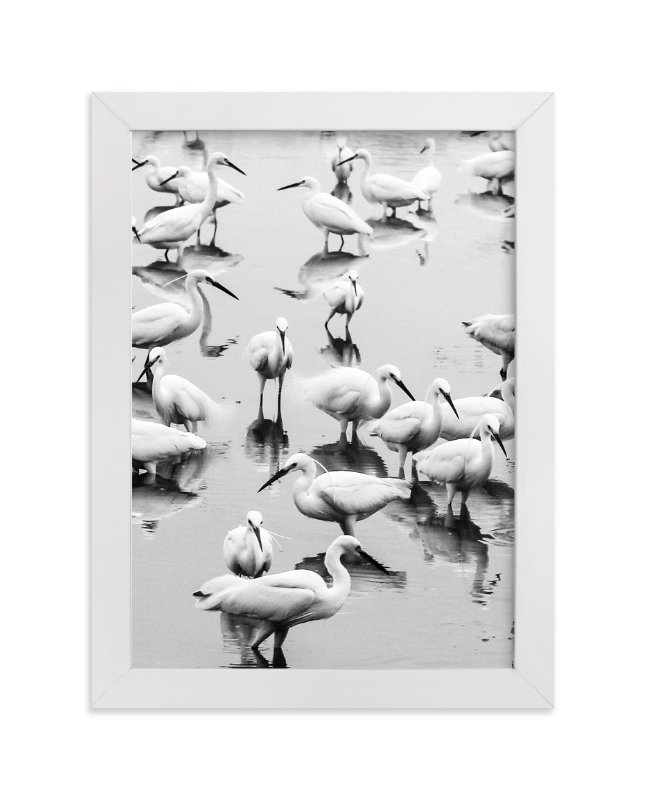 """""""Migratory Birds Part 2"""" - Art Print by Hello Sophie Design Lab in beautiful frame options and a variety of sizes."""