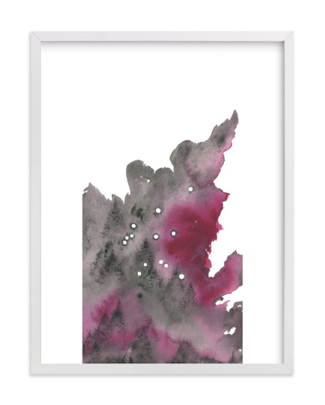 """""""Aquarius Constellation"""" - Art Print by Emily Magone in beautiful frame options and a variety of sizes."""