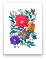 hand painted flowers_5d by aticnomar