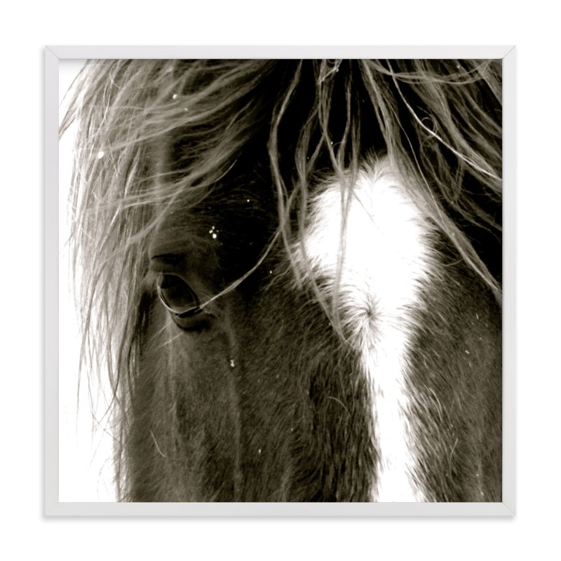 """""""Apache Jack"""" - Art Print by Leslie Le Coq in beautiful frame options and a variety of sizes."""