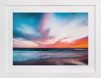 Sassin's Sunset  Art Print