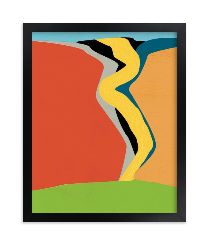 """Aspens"" - Art Print by Gaucho Works in beautiful frame options and a variety of sizes."