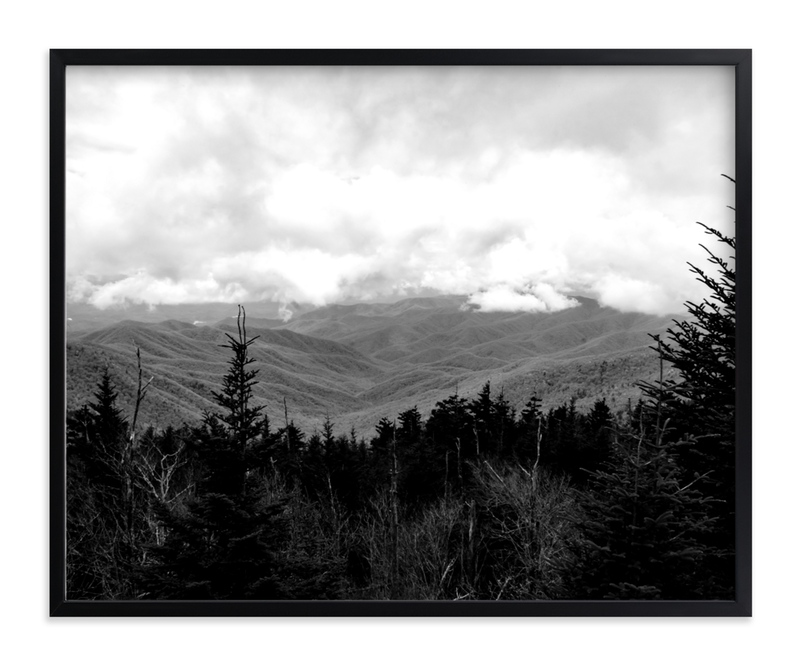 """""""View From Up Here"""" - Art Print by Hannah Graham in beautiful frame options and a variety of sizes."""