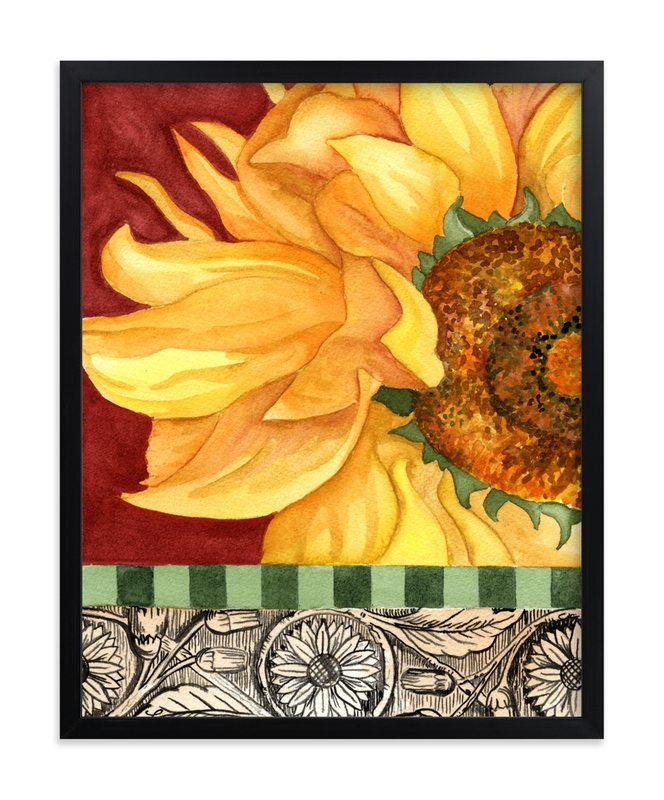 """Summer I"" - Art Print by Stephanie Toral in beautiful frame options and a variety of sizes."