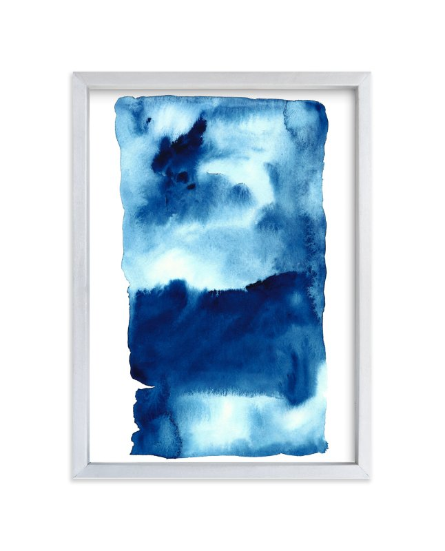"""Storm #1"" - Art Print by Belia Simm in beautiful frame options and a variety of sizes."