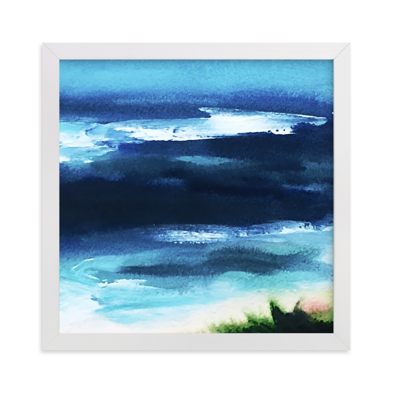"""""""Deepwater"""" - Art Print by Jenny Partrite in beautiful frame options and a variety of sizes."""