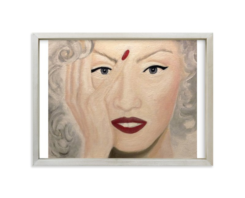"""Oh! No! Oil Painting"" - Art Print by Abby Reid in beautiful frame options and a variety of sizes."