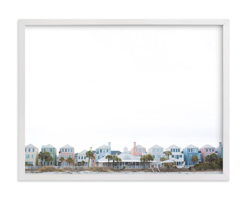 """""""Charleston Hues"""" - Art Print by Melinda Denison in beautiful frame options and a variety of sizes."""