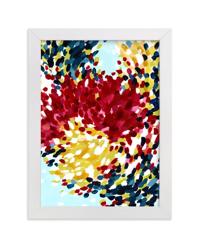 """""""Winter Bloom I"""" - Art Print by Katie Craig in beautiful frame options and a variety of sizes."""