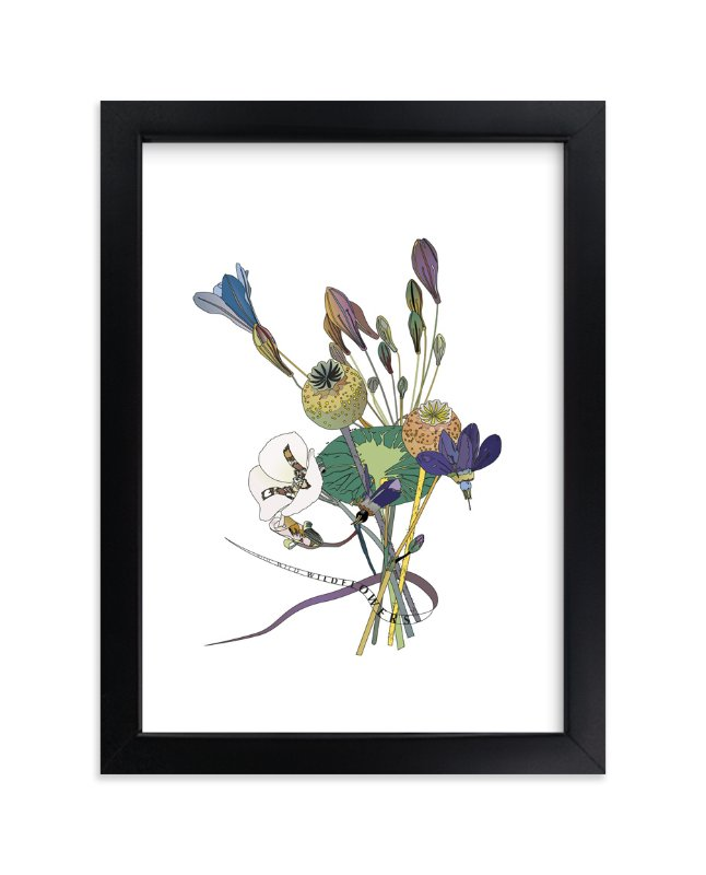 """""""Wild, Wild,Wildflowers"""" - Art Print by Pat Jennings in beautiful frame options and a variety of sizes."""
