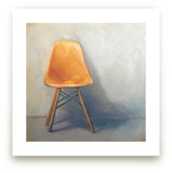 Yellow Eames Side Chair by Laura Browning
