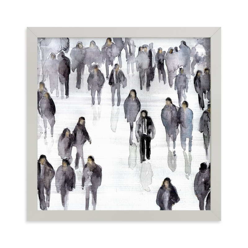 """""""Legal aliens"""" - Art Print by Lulaloo in beautiful frame options and a variety of sizes."""