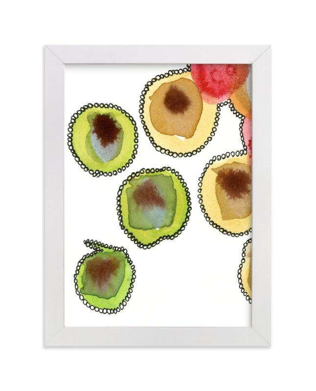 """""""Fantastic Orbs 3"""" - Art Print by Me Amelia in beautiful frame options and a variety of sizes."""