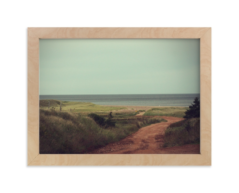 """""""The Shores of Green Gables"""" - Art Print by Gray Star Design in beautiful frame options and a variety of sizes."""