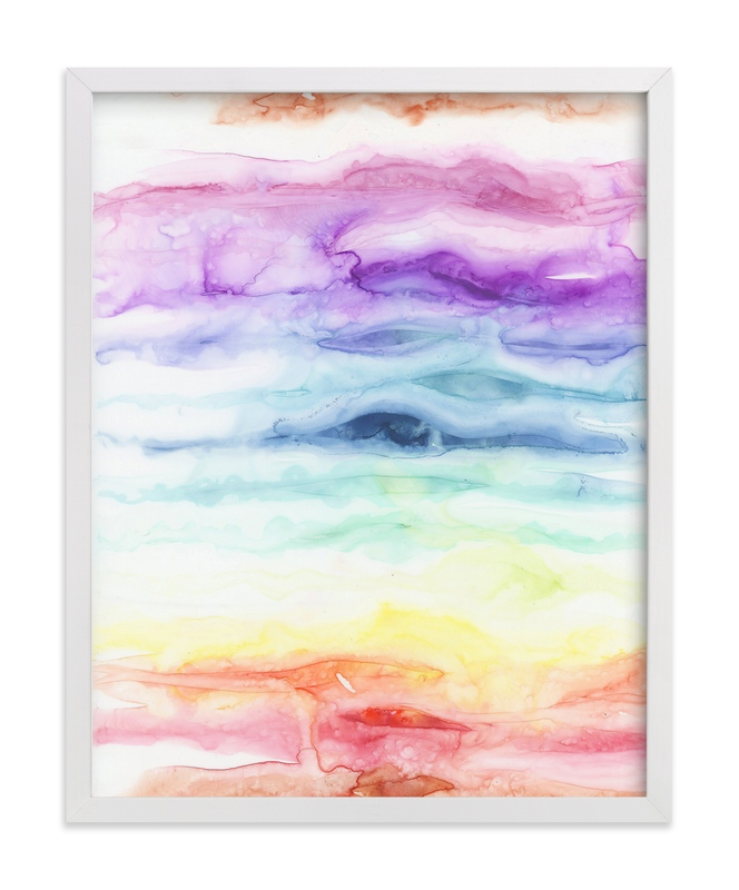 """Chakras"" - Art Print by Emily Magone in beautiful frame options and a variety of sizes."
