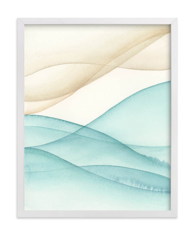 """Playa Five."" - Art Print by Emily Magone in beautiful frame options and a variety of sizes."