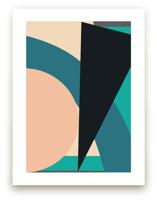 Shape and Line by Christina Flowers