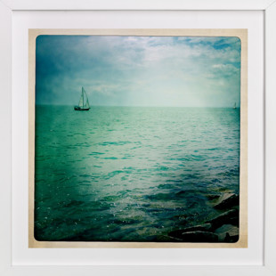 Sailboat on Lake Ontario  Art Print