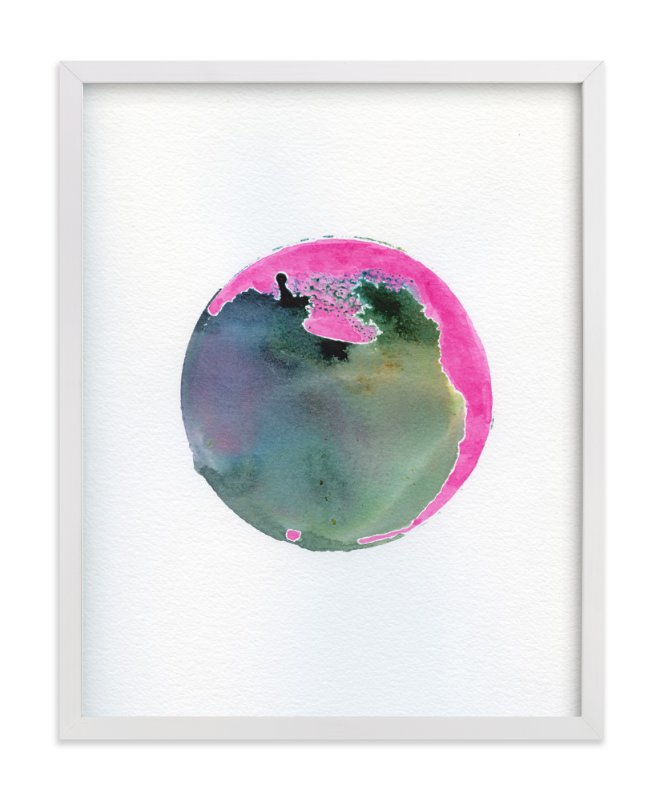 """No. 1 Departure"" - Art Print by Stephanie Nowotarski in beautiful frame options and a variety of sizes."