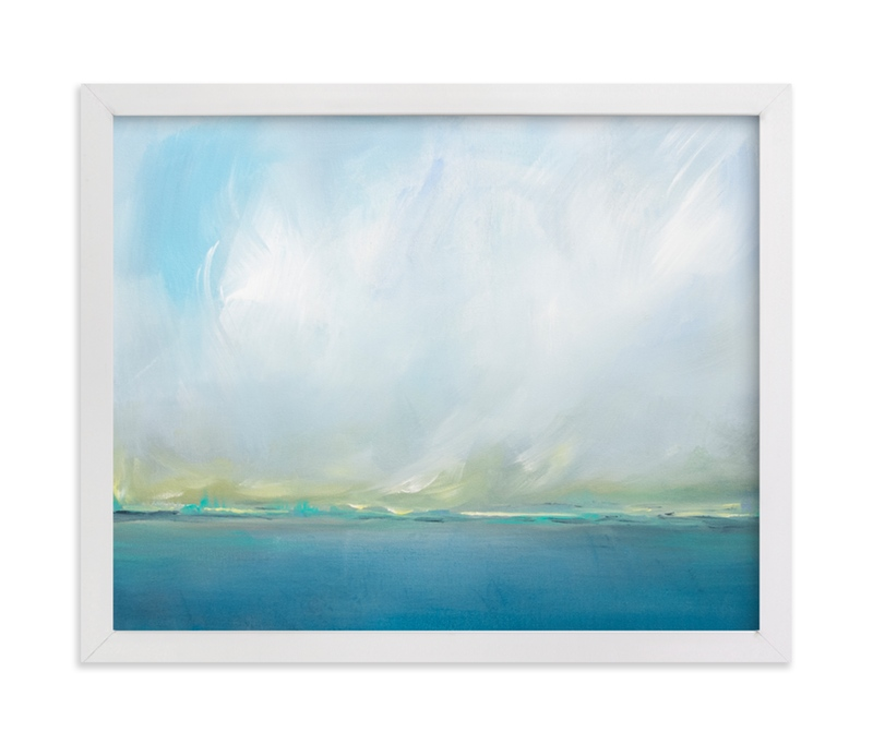 """""""Divinity - Landscape"""" - Art Print by Julia Contacessi in beautiful frame options and a variety of sizes."""