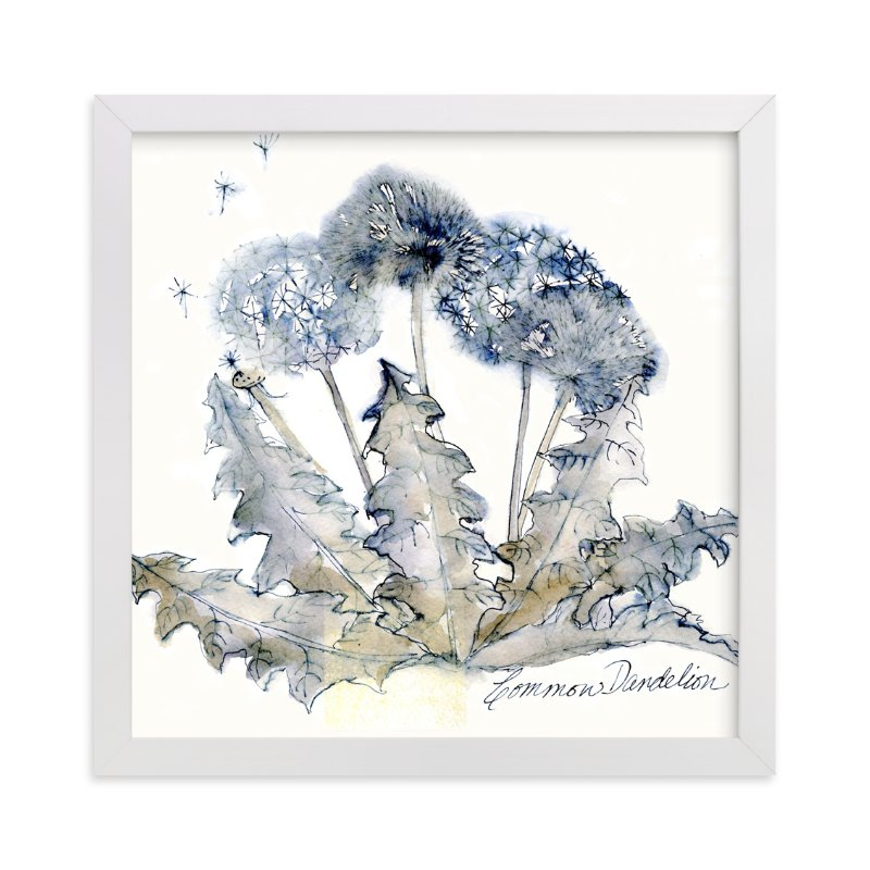 """""""Graceful Dandelions"""" - Art Print by Me Amelia in beautiful frame options and a variety of sizes."""