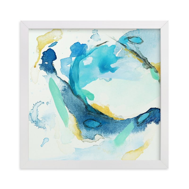 """""""Tide Pool #3"""" - Art Print by Mya Bessette in beautiful frame options and a variety of sizes."""