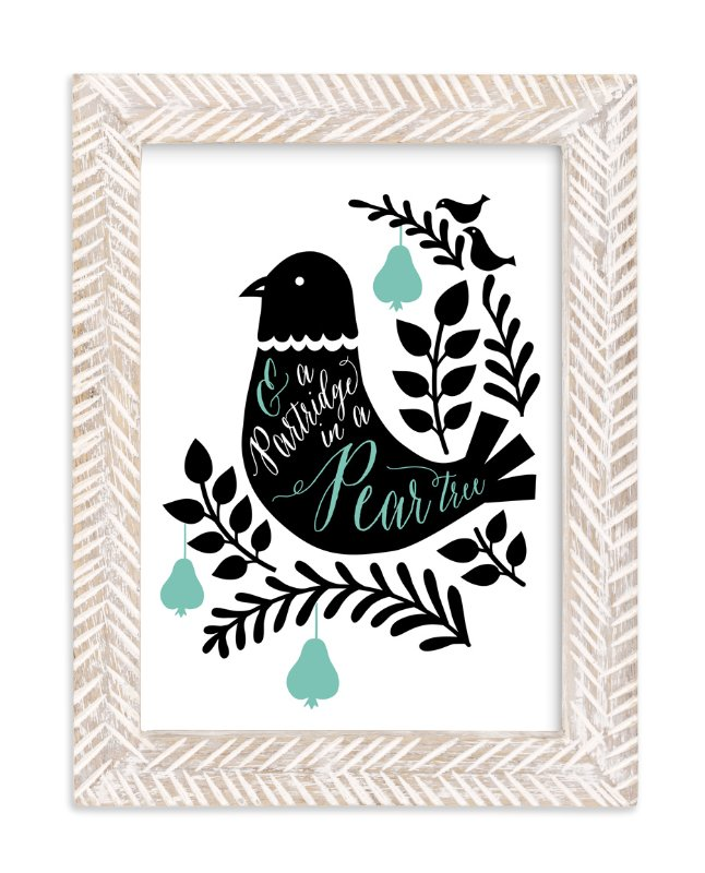"""""""Two Turtle Doves"""" - Art Print by Surface Love in beautiful frame options and a variety of sizes."""