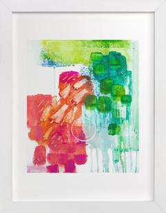 Popsicle Parade  Art Print