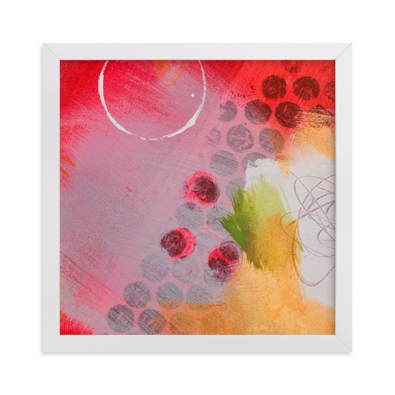 """""""Say You Don't Mind"""" - Art Print by Stacy Kron in beautiful frame options and a variety of sizes."""