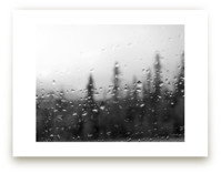 Rainy Weather Drive by Ardell McLennan