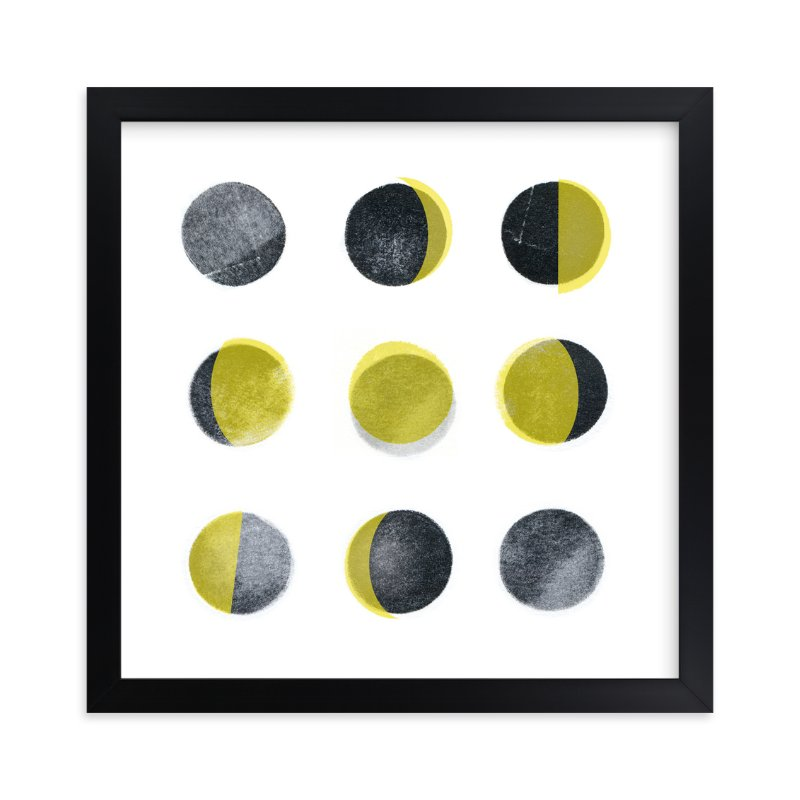 """Phases"" - Art Print by Susie Allen in beautiful frame options and a variety of sizes."