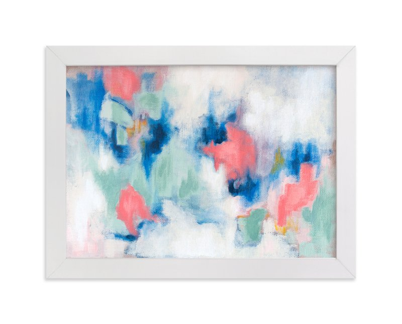 """Spring Rain"" - Art Print by Lorent and Leif in beautiful frame options and a variety of sizes."