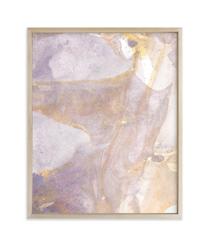 """Soft Shimmer No. 1"" - Art Print by Julia Contacessi in beautiful frame options and a variety of sizes."