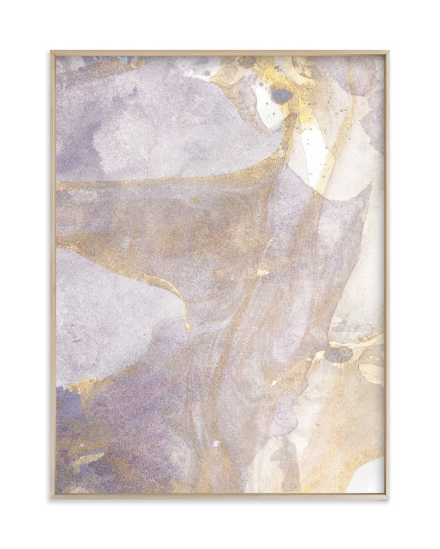 """""""Soft Shimmer No. 1"""" - Art Print by Julia Contacessi in beautiful frame options and a variety of sizes."""