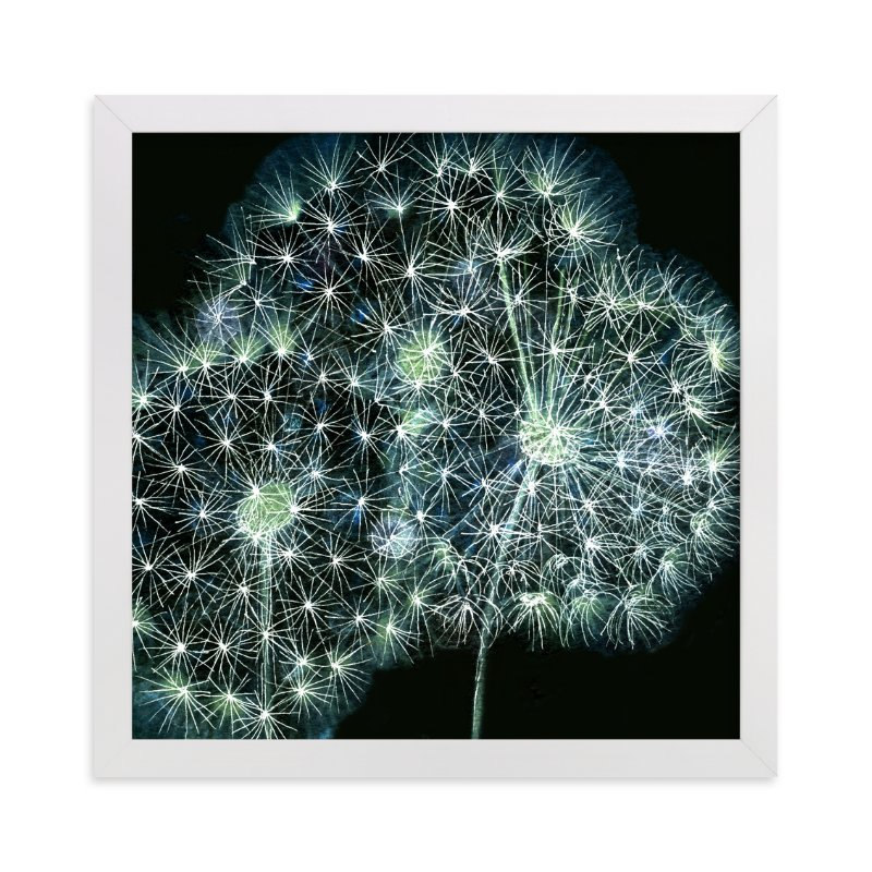 """""""Dandelion Wow"""" - Art Print by Me Amelia in beautiful frame options and a variety of sizes."""