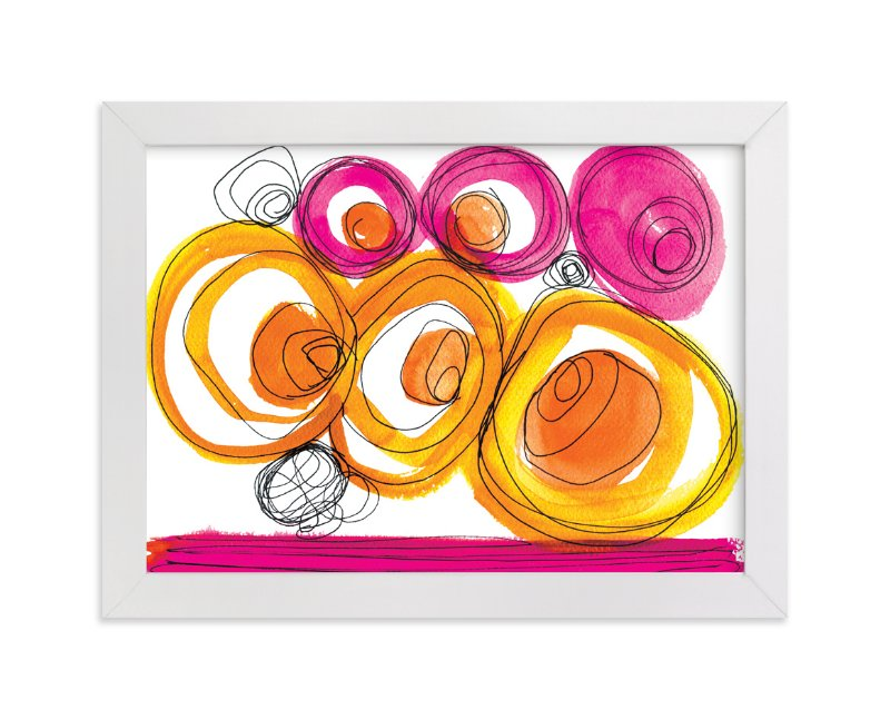 """""""Whirlpools"""" - Art Print by Emine Ortega in beautiful frame options and a variety of sizes."""