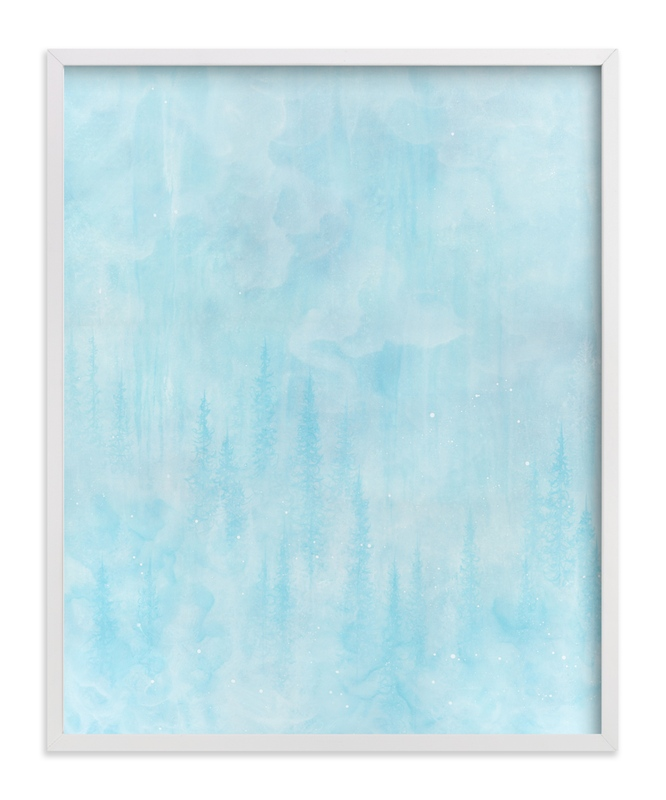 """""""Tranquil."""" - Art Print by Emily Magone in beautiful frame options and a variety of sizes."""