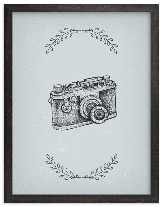 """""""Camera 6"""" - Art Print by Smile Peace Love in beautiful frame options and a variety of sizes."""