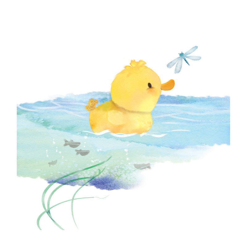 Jimmy Duckling Wall Art Prints by Tracy Ann | Minted