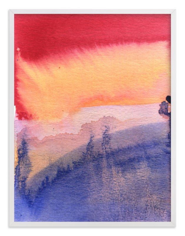 """""""That Light"""" - Art Print by Aimee Siberon in beautiful frame options and a variety of sizes."""
