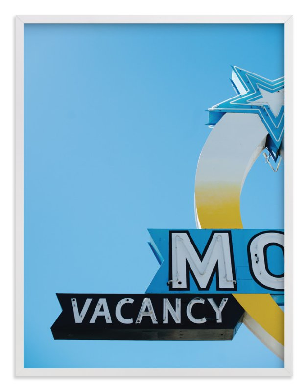 """""""Vacancy"""" - Art Print by Jennifer Little in beautiful frame options and a variety of sizes."""