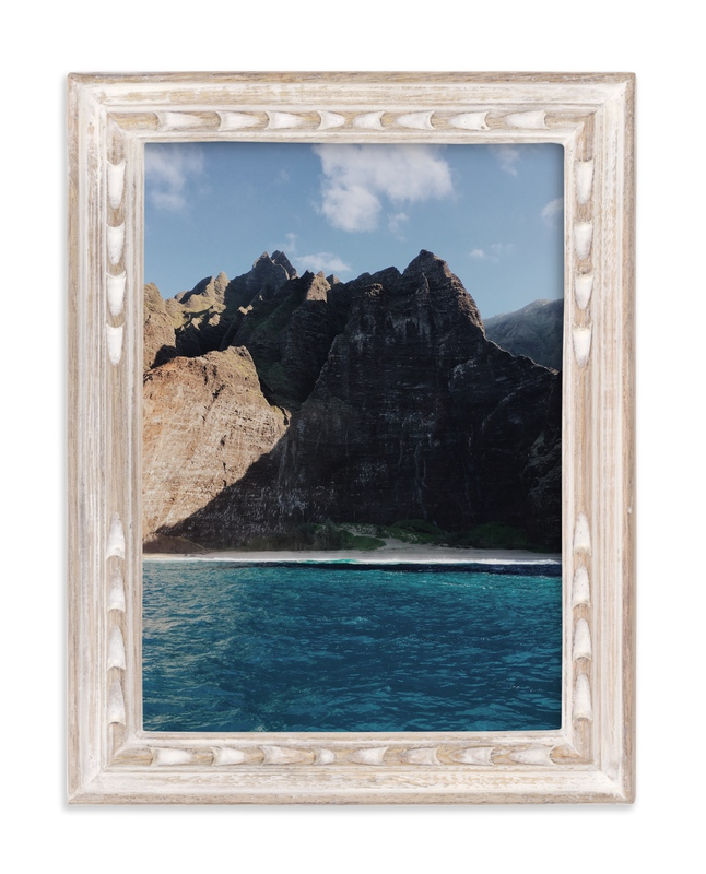 """Na Pali Giants"" - Art Print by Christian Florin in beautiful frame options and a variety of sizes."