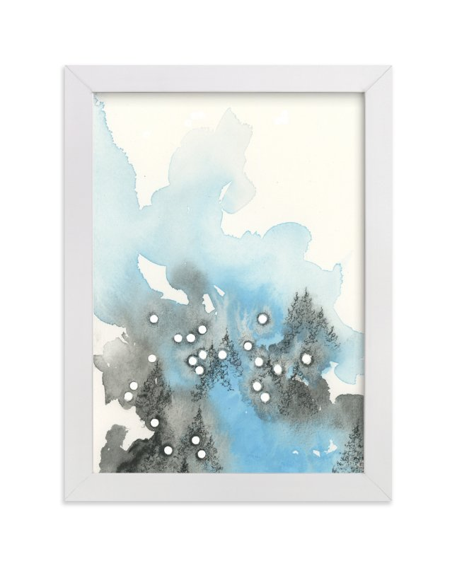 """""""Sagittarius Constellation"""" - Art Print by Emily Magone in beautiful frame options and a variety of sizes."""